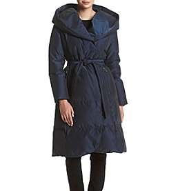 Ivanka Trump® Oversized Shawl Collar Down Jacket