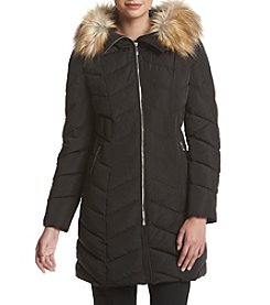 Ivanka Trump® Chevron Down Jacket