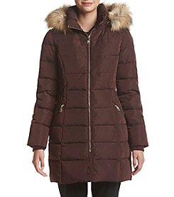Ivanka Trump® Waist Detail Down Jacket