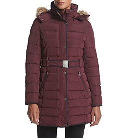 Tommy Hilfiger® Buckle Belt Puffer Jacket