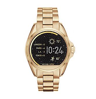 Michael Kors® Access Unisex 45mm Goldtone Bradshaw Touchscreen Smart Watch