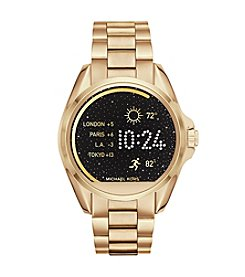 Michael Kors® Access Unisex 45mm Goldtone Bradshaw Touchscreen Smart Watch