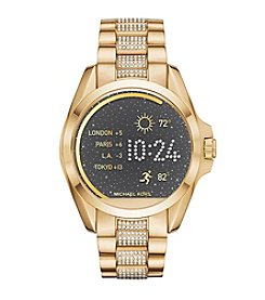 Michael Kors® Access Unisex 45mm Goldtone Bradshaw Touchscreen Smartwatch