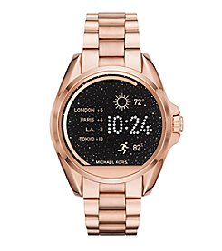 Michael Kors® Access Unisex 45mm Rose Goldtone Bradshaw Touchscreen Smartwatch