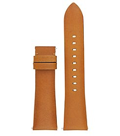 Michael Kors® Bradshaw Luggage Smooth Leather Strap