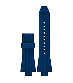 Michael Kors® Access Dylan Navy Silicone Strap