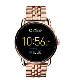 Fossil® Q Wander Touchscreen Link Bracelet Smart Watch
