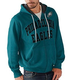 G-III NFL® Philadelphia Eagles Men's Pass Attempt Full Zip Hoodie