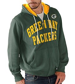 G-III NFL® Green Bay Packers Men's Pass Attempt Full Zip Hoodie