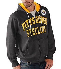 G-III NFL® Pittsburgh Steelers Men's Pass Attempt Full Zip Hoodie