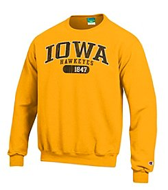 Champion® NCAA® Iowa Hawkeyes Men's Team Crew Neck Sweatshirt