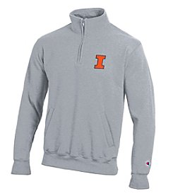 Champion® NCAA® Illinois Fighting Illini Men's 1/4 Zip Pullover