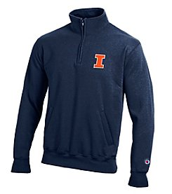 Champion® NCAA® Illinois Fighting Illini Men's Team 1/4 Zip Pullover