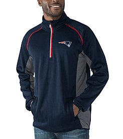 G-III Men's NFL® New England Patriots Flexibility 1/2 Zip Pullover