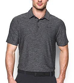 Under Armour® Men's Heathered Playoff Short Sleeve Polo