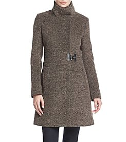 Via Spiga® Funnel Neck Coat