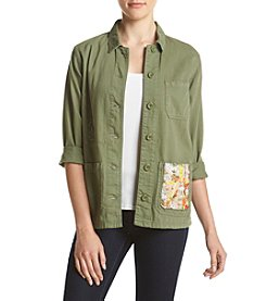 Hippie Laundry Patched Pocket Jacket