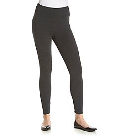 no comment™ Stretch Waist Moto Leggings