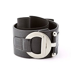 Fashion Focus Crocodile Stretch Belt