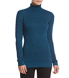 Ruff Hewn GREY Turtleneck Rib Sweater