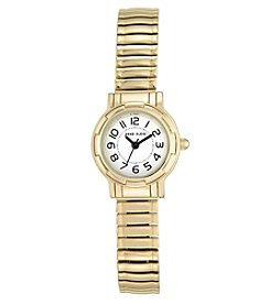 Anne Klein® Goldtone Expansion Band Watch