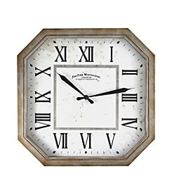 FirsTime Rural Octagon Wall Clock