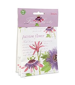 Fresh Scents™ Passion Flower Sachet 3-Pack