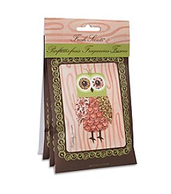 Fresh Scents™ Pink Owl Sachet 3-Pack