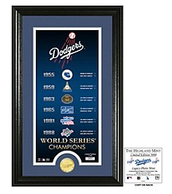 MLB® Los Angeles Dodgers Legacy Supreme Bronze Coin Photo Mint