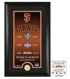 MLB® San Francisco Giants Legacy Supreme Bronze Coin Photo Mint