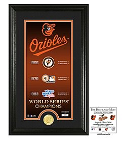 MLB® Baltimore Orioles Legacy Supreme Bronze Coin Photo Mint