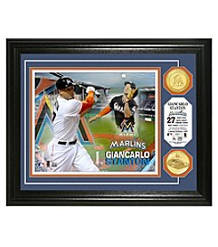 MLB® Miami Marlins Giancarlo Stanton Photo Mint