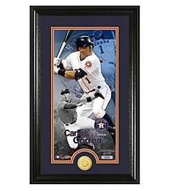 MLB® Houston Astros Carlos Correa Supreme Bronze Coin Photo Mint