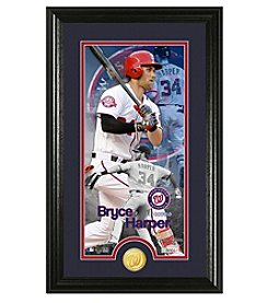 MLB® Washington Nationals Bryce Harper Supreme Bronze Coin Photo Mint