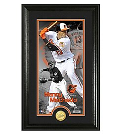 MLB® Baltimore Orioles Manny Machado Supreme Bronze Coin Photo Mint