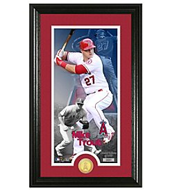 MLB® Los Angeles Angels Mike Trout Supreme Bronze Coin Photo Mint