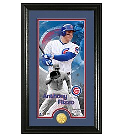 Highland Mint MLB® Chicago Cubs Anthony Rizzo Supreme Bronze Coin Photo Mint