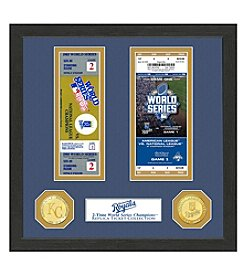 MLB® Kansas City Royals World Series Ticket Collection
