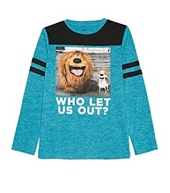The Secret Life of Pets™ Boys' 8-20 Long Sleeve Who Let Us Out? Tee