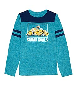 Despicable Me® Boys' 8-20 Long Sleeve Squad Goals Tee