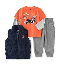Kids Headquarters® Boys' 4-7 3-Piece Race Team Vest Set