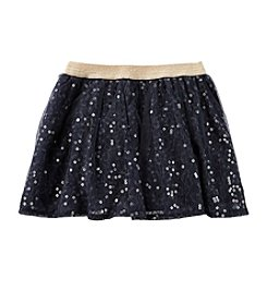 OshKosh B'Gosh® Girls' 2T-6X Sequin Lace Skirt