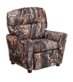 Flash Furniture Contemporary Camouflaged Fabric Kids Recliner