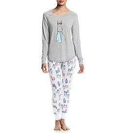 Zoe&Bella @BT Printed Pajama Set