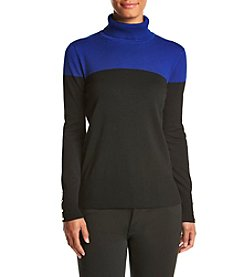 Cupio Colorblock Turtleneck