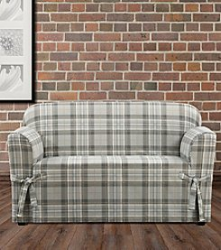Sure Fit® Highland Plaid Chair Slipcover
