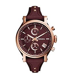 Fossil® Women's 38mm Original Boyfriend Sport Chronograph Watch