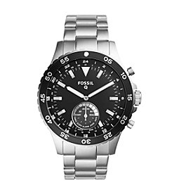 Fossil® Hybrid Smartwatch - Q Crewmaster Stainless Steel