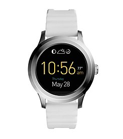 Fossil® Q Founder 2.0 Touchscreen Silicone Smartwatch