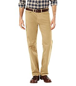 Dockers® Men's 5-Pocket Stretch Straight Fit Khaki Pants
